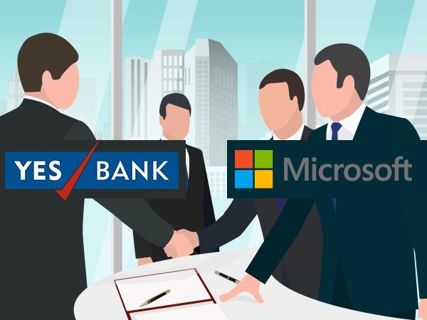 Microsoft এর সাথে গাঁটছড়া বাঁধল YES BANK