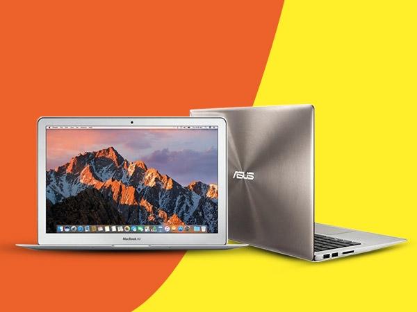 ২০১৭ সালের কয়েকটি পোর্টেবেল হাল্কা পাতলা ল্যাপটপ, Apple Macbook