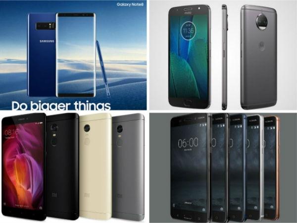 Nokia 6, Galaxy Note8, Moto G5S Plus, LG V30 সহ আরও কিছু ট্রেন্ডিং ফোন