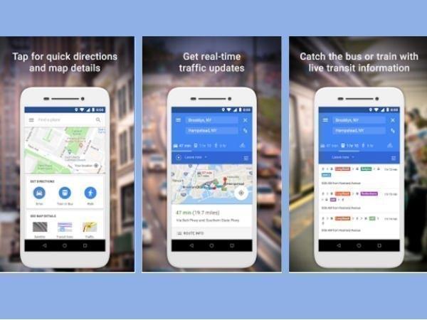 এবার প্লে স্টোরে ডাউনলোদ করা যাবে Google Maps Go
