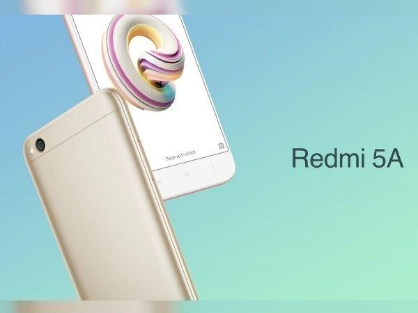 লঞ্চ হল নতুন Redmi 5A। রয়েছে 13MP ক্যামেরা, 3000 mAh ব্যাটারি