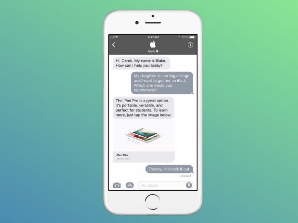 'WhasApp Business' কে টেক্কা দিতে এবার অ্যাপেলের বাজি 'Business Chat'