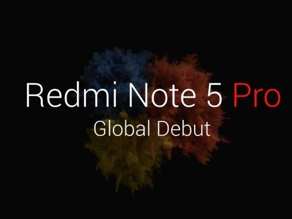 ভারতে লঞ্চ হল Xiaomi Redmi Note 5 Pro: দাম ও স্পেসিফিকেশান ও ফিচার্স