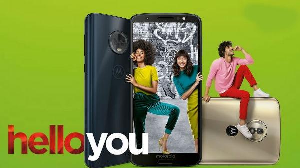 লঞ্চ হল Moto G6, G6 Plus আর G6 Play: স্পেসিফিকেশান ও ফিচার্স
