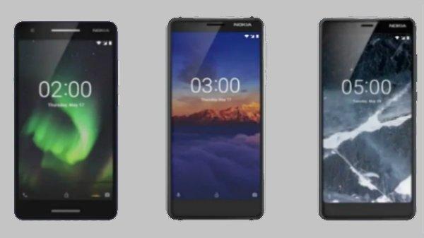 Nokia 2.1, Nokia 3.1 আর Nokia 5.1 এর বিক্রি শুরু হল