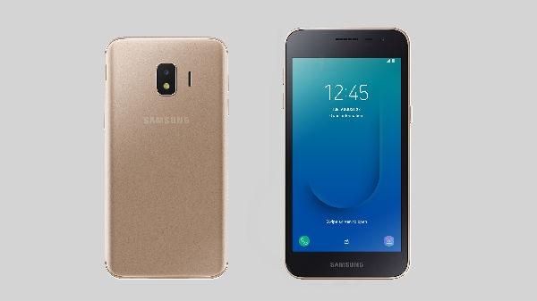 Android Go অপারেটিং সিস্টেমে লঞ্চ হল Samsung Galaxy J2 Core