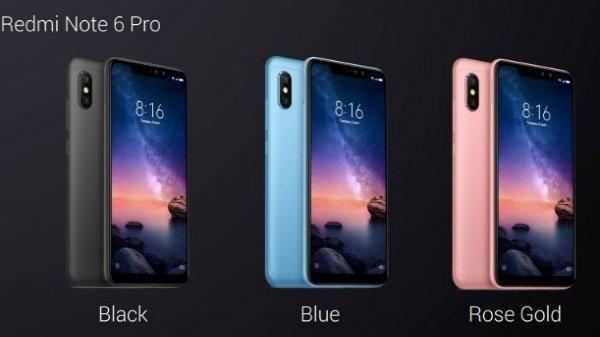 চারটি ক্যামেরা, ডিসপ্লের উপরে নচ সহ লঞ্চ হল Redmi Note 6 Pro
