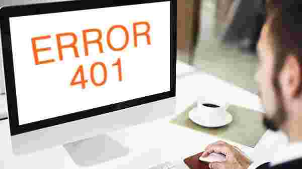 HTTP error 401 (unauthorized)